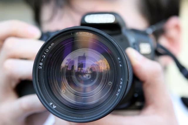 Toma fotografías en horas distintas