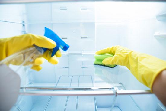 aprende como limpiar la nevera