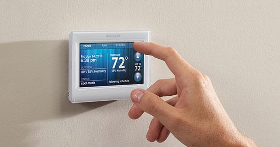 como programar un termostato